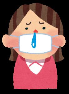 鼻水は花粉症の一番大きな症状です